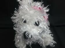 Ganz Webkinz Plush White Terrier Puppy Dog HM106  - Westhighland *No Code*
