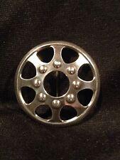 Kalevala Koru Finland Modernist Sterling Silver Brooch Pin