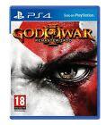 GOD OF WAR 3 III HD REMASTERIZADO EN CASTELLANO ESPAÑOL NUEVO PRECINTADO PS4