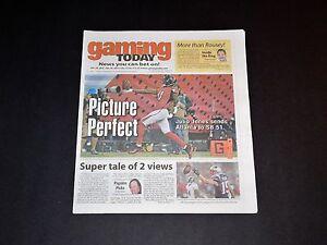 Gaming Today Julio Jones Atlanta Falcons Football SuperBowl Issue NEW