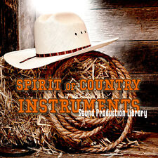 COUNTRY INSTRUMENTS SPIRIT - Large Real 24bit SAMPLES Production Library on DVD