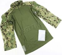NEW Crye Precision AOR2 DGIIIa Combat Shirt LARGE-LONG (L-L) Navy Custom G2