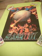 >> SLASH OUT SLASHOUT SPIKE OUT 2 SEGA ARCADE B1 SIZE OFFICIAL POSTER! <<