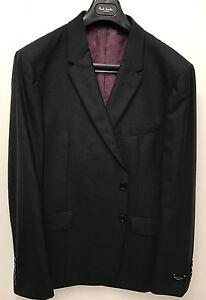 """Paul Smith Blazer / Suit Jacket - LONDON FLORAL Black Slim Fit UK44R Chest 44"""""""