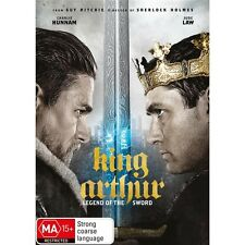 KING ARTHUR:Legend Of The Sword-Eric Bana, Jude Law-Region 4-New AND Sealed