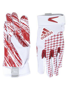 Adidas Boy's Youth adiFAST-2.0 White/Red Padded Football Gloves