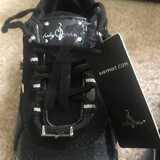 Baby Phat TEMPO WEB Fashion Shoes Women's Sneakers Sz 6 M Black/Silver