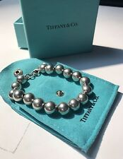 Tiffany & Co Sterling Silver Ball Bead Bracelet