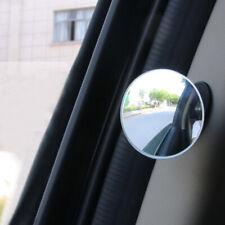 1 Piece Car 360° Blind Spot Side Mirror Stick On Glass Adjustable Safety Lens