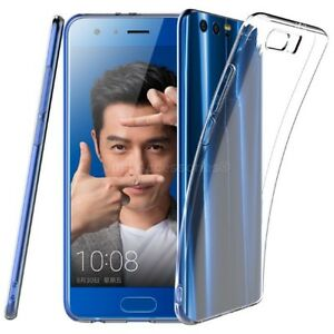 Clear Silicone TPU Gel Case For Huawei Honor 9 Phone Cover Ultra Slim STF-L09