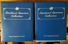 50 STATE QUARTER SET●UNCIRCULATED●1999-2008●ARCHIVAL QUALITY BOOK●VOL 1& 2●MINT