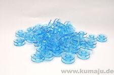 0,38 € / St., 60 blaue Spulen passend für Pfaff Hobbymatic, Tipmatic, Dualmatic