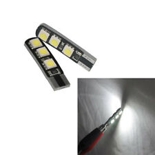 New listing 2pcs x T10 Led Width Lights Reading Lamp Canbus No Error 6-Smd 5050