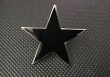 BLACK STAR ANARCHY ANTIFLAG PUNK CRASS ENAMEL PIN BADGE (PB47)