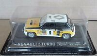 "DIE CAST "" RENAULT 5 TURBO RALLY MONTECARLO 1981 "" RALLY DEA SCALA 1/43"