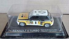 "DIE CAST "" RENAULT 5 TURBO RALLY MONTECARLO 1981 "" RALLY DEA SCALA 1/43"