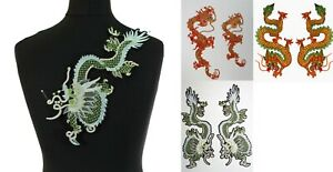 Dragon  Iron on Sew On Patch  Embroidered Badge Motifs #,2,,4,5