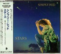Simply Red - Stars, JAPAN CD OBI_WMC5-440