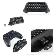 Bluetooth Mini Wireless Chatpad Message Keyboard for Xbox One Controller Black V