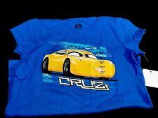 Disney Store Cruz Cars T-Shirt Girls Size L 10-12 *New*