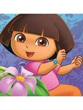 Dora the Explorer Flower Adventure  Party Supplies-Beverage Napkins-16ct.
