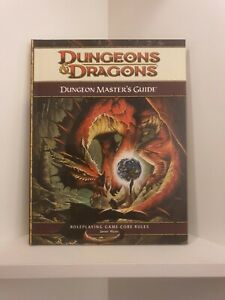 Dungeon Master's Guide, Hardcover, Dungeons & Dragons 4th. ed. (D&D), RPG