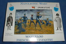 A CALL TO ARMS #28 NAPOLEONIC FRENCH LIGHT INFANTRY 1/32 SCALE UNPAINTED PLASTIC