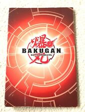 BAKUGAN BATTLE BRAWLERS ALBUM (9X13 IN.) 12 DOUBLE SIDED PAGES-WITH 38 CARDS