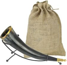 Viking Drinking Horn 12 For Medieval Game of Thrones Style Beer Ale Mead Wine