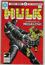 FRENCH COMIC FRANÇAIS EDITION HERITAGE  HULK  134 / 135