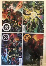 New listing X-Men Vol 5 #1 2 3 4 Nm 1st Prints! Marvel 2021