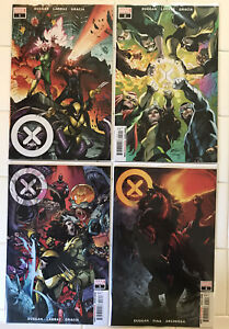 X-Men Vol 5 #1 2 3 4 NM 1st Prints! Marvel 2021