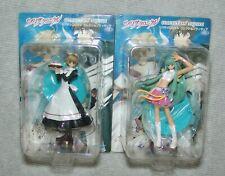 New Sega Nhk Clamp Tsubasa Reservoir Chronicle 2pc Figure Set Usa Seller