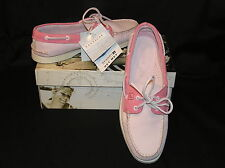 SPERRY A/O BOAT DECK LOAFER SHOES SNEAKERS PALE PINK ROSE 9 BLOW OUT SALE