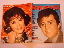 BRAVO NR.  9 von 1966 - COVER CHRIS ANDREWS + STARSCHNITT BEATLES TEIL 20