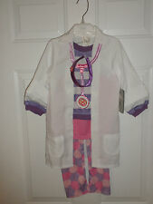DISNEY STORE Girls Doc McStuffins Costume for Girls NEW SIZE 4