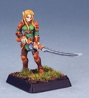 Flara Vale Swordsman Reaper Miniatures Warlord Elf Elves Fighter Ranger Melee