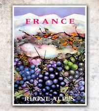 """French Art Vintage Travel Poster France Print 11x14"""" Rare Hot New A594"""