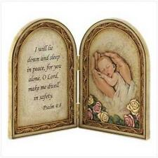 Biblical Baby Blessing Plaque Gift for Boy or Girl Infant Baby New Moms Mother