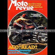 MOTO REVUE N°2169 GITANE TESTI 125 SACHS MONARK SUZUKI TS KAWASAKI F11 1974