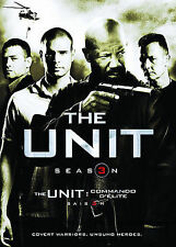 The Unit - Season 3 (DVD, 2008, 3-Disc Set, Canadian; Sensormatic; Widescreen)