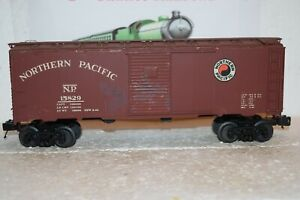 O Scale Trains  tin plated Northern Pacific Box Car 15829