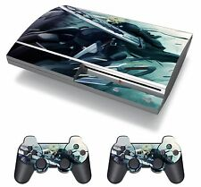Final Fantasy VII FF7 FFVII Cloud Strife Skin Sticker Decal Protector PS3 FAT