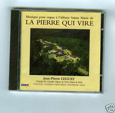 CD NEW JEAN PIERRE LEGUAY (ORGUE) LA PIERRE QUI VIRE
