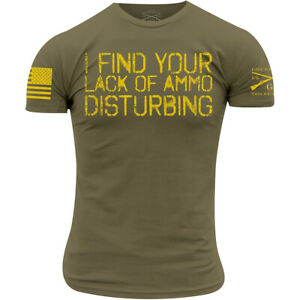 Grunt Style Lack Of Ammo T-Shirt - Military Green