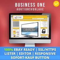 Gold One | eBay Template Auktionsvorlage Verkaufsvorlage Ebayvorlage HTTPS 2018