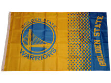 Golden State Warriors Fahne gelb NBA Flag Basketball Fanartikel Flagge 155x90 cm