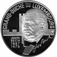 LUXEMBURGO 25 ECU DE PLATA PROOF 1993 GRAN DUQUE CON CAJA