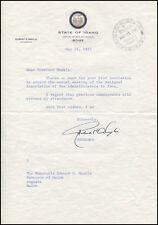 ROBERT E. SMYLIE - TYPED LETTER SIGNED 03/14/1957