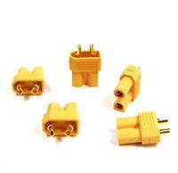 5 Stück XT30 STECKER Buchse Connector Weiblich Female Goldstecker Lipo Akku 30A